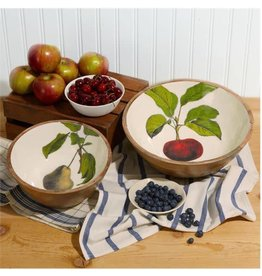 Harvest Serving Bowl, Medium/Pears