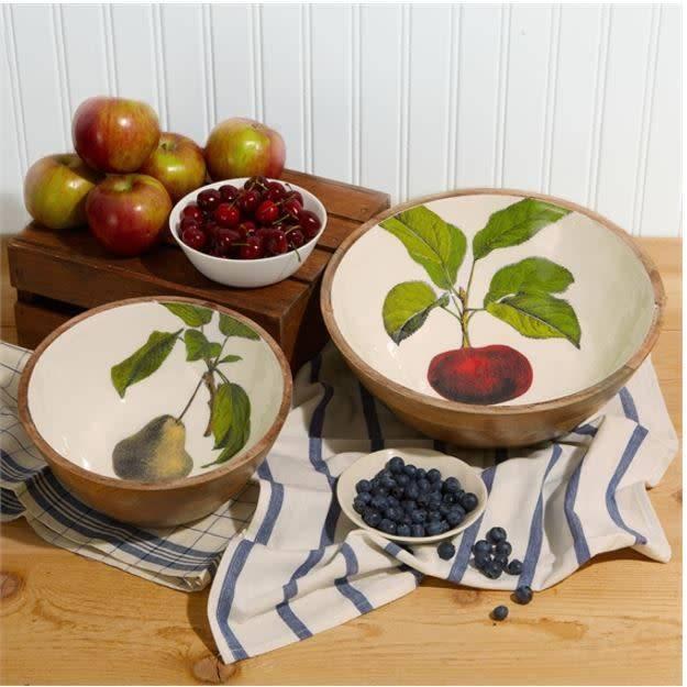 Harvest Serving Bowl, Medium/Pears
