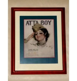 "Framed Print ""Camp Meigs, Atta Boy"""
