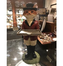 Decorative Fox Business Card Holder