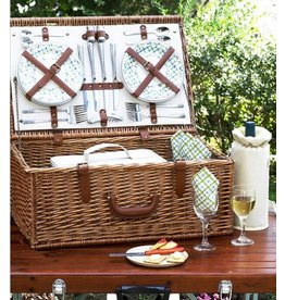 Dorset Basket for Four with Coffee Service, Gazebo