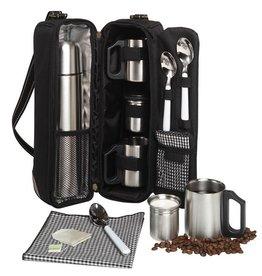 Coffee and Tea Tote, Black