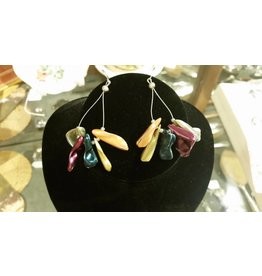 Pair of Mother of Pearl Earrings