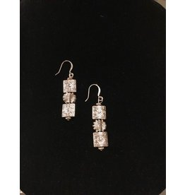 Pair of Silver Earrings