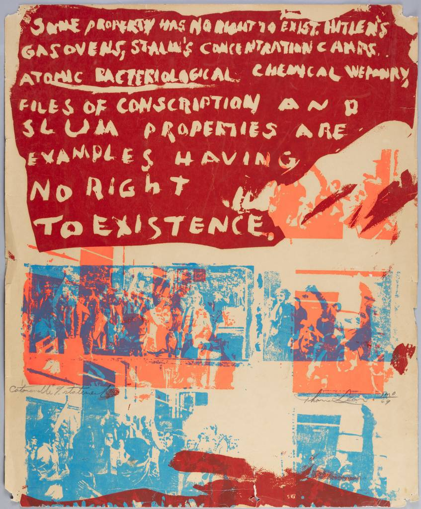 Poster - Catonsville 9 Statement, 13x19