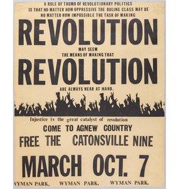 Poster - Revolution, 13x19