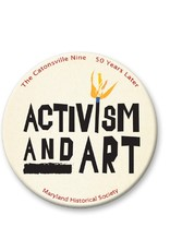 Activism and Art Button - Beige