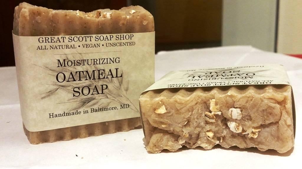 Great Scott Soap Shop - Moisturizing Oatmeal Soap