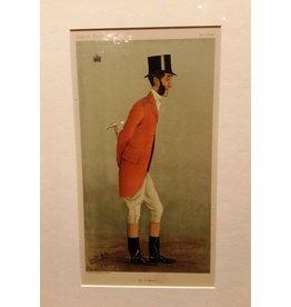 Large Framed Vanity Fair Print, 1898