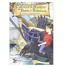 Calvert the Raven in The Battle of Baltimore Hardcover