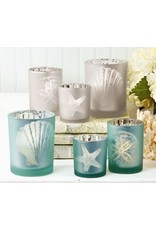 Frosted Candleholder