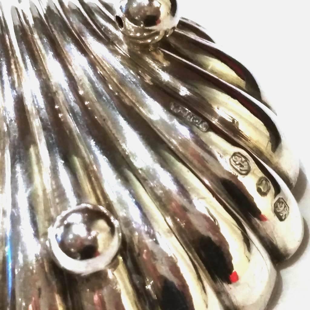 Set of Sterling Salt Dishes & Spoons
