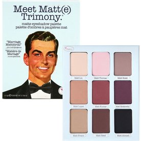 THE BALM THE BALM EYESHADOW PALETTE MEET MATTE TRIMONY