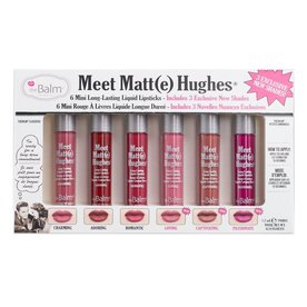 THE BALM THE BALM MEET MATTE HUGHES LIQUID LIPSTICK KIT