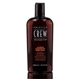 A. CREW A.CREW 24-HOUR DEODORANT BODY WASH