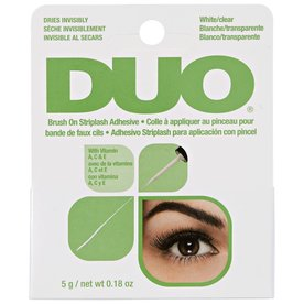 ARDELL DUO BRUSH ON STRIPLASH ADHESIVE WHITE
