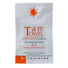 TAN TOWEL X FOLIATOR