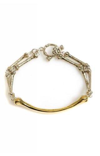 Han Cholo 2 Tone Bone Bracelet