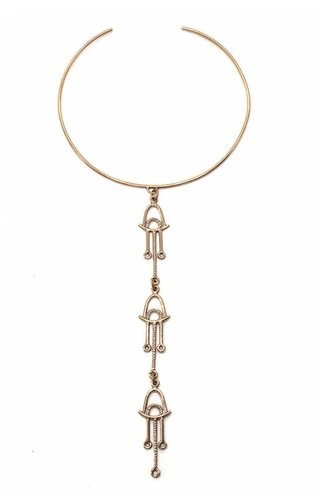 Laurel Hill Ananke Triad Collar Bronze