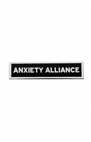 Word for Word Anxiety Alliance Pin