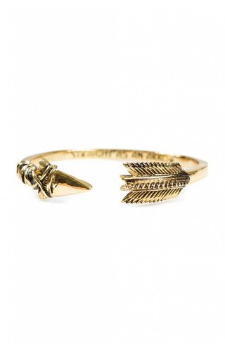 Han Cholo Arrow Bangle Gold