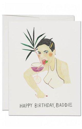 Baddie Bday Card