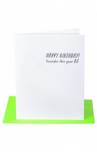 BJ Bday Card