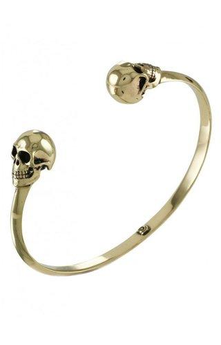 Lost Apostle-Etsy Bronze Human Skull Cuff