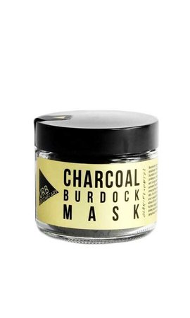 URB Apothecary Charcoal Burdock Mask 20oz