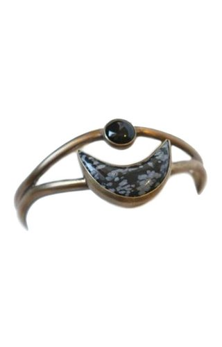 Powers Handcrafted-Etsy Crescent Moon Cuff