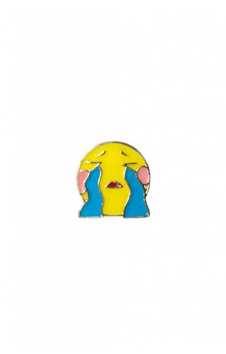 Cry Emoji Pin