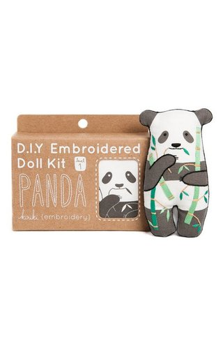 Kiriki Press D.I.Y Panda Doll