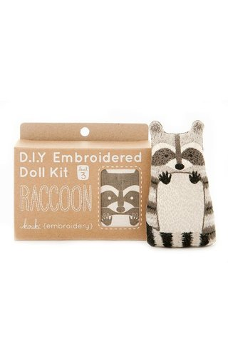 Kiriki Press D.I.Y Raccoon Doll