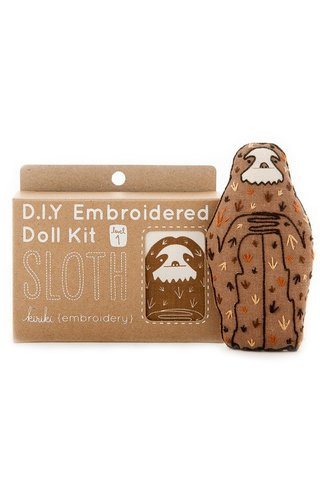 Kiriki Press D.I.Y Sloth Doll