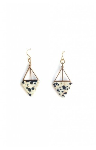 Michelle Starbuck Designs Dalmatian Earrings