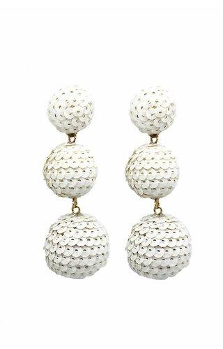 Dolly White earrings