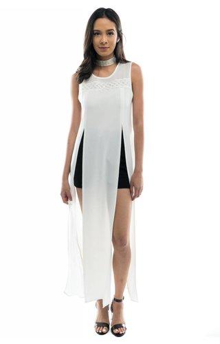 Embellished Manner Dress