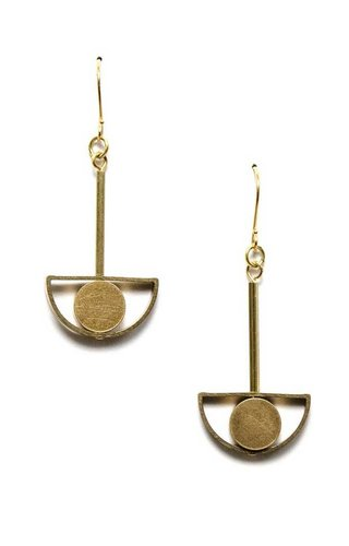 Michelle Starbuck Designs Eye Drop Earrings