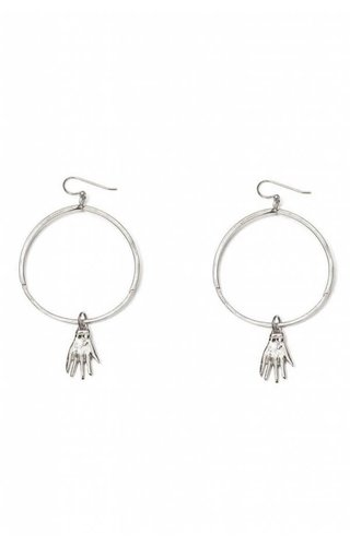 Nina Berenato Gate Earring White Gold