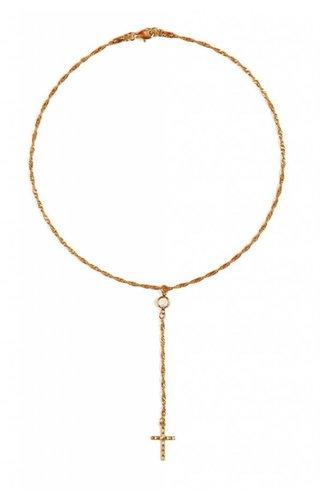 Frasier Sterling Golden Girl Necklace
