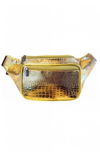 Golden Serpent Fanny Pack