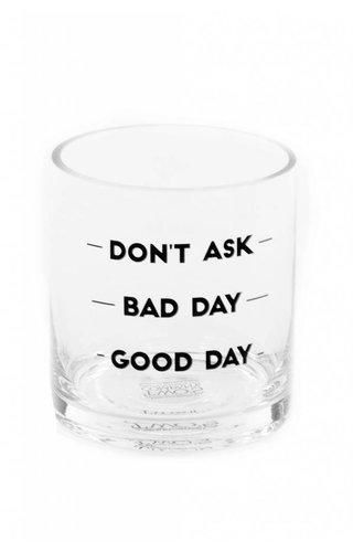 Good Day Rocks Glass