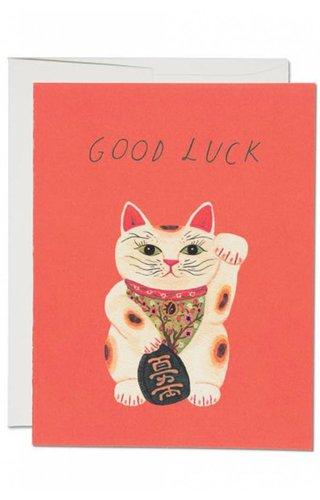 Good Luck Kitty Card