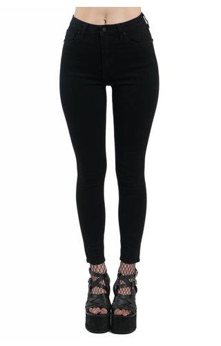 Just USA Jeans High Waisted Basic Black Skinny Jeans