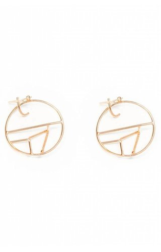 Nina Berenato Jauna Earring Yellow Gold