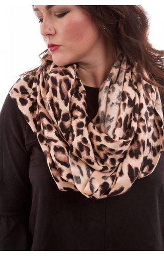 Luxe Leopard Infinity Scarf