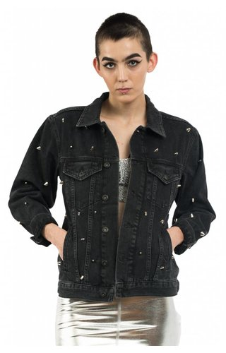 The Ragged Priest Magpie Denim Jacket