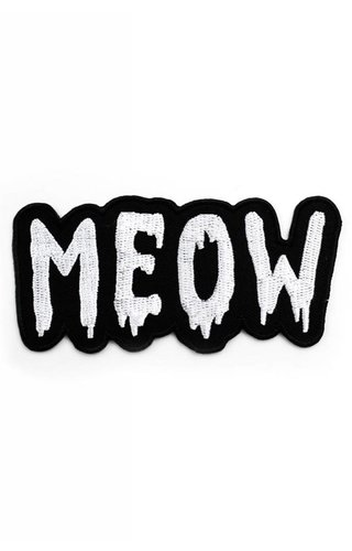Band Of Weirdos Meow Patch
