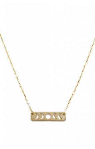 Honeycat Mini Moon Phase Necklace