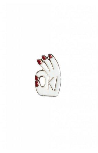OK Hand Pin
